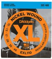 D'Addario XL Nickel Electric Guitar Strings